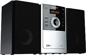 Aiwa DVD Micro Hi-Fi System with Bluetooth and FM Radio (AMD-805)