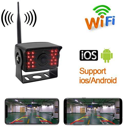 Huashao Smart WiFi Wireless Camera, Car Waterproof Night Vision Truck Wireless Reversing Camera, GM Camera
