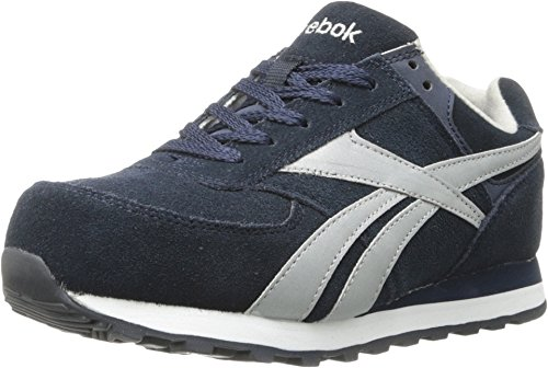Oxford Composite Shoes Toe Work (Reebok Work Women's Leelap RB195 Work Shoe,Blue Oxford,7.5 M US)