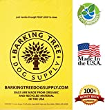 Best Dog Poop Bags For Pet Waste On Amazon (Bulk 201-Count Supply) ✮ Proprietary BioHybrid® Material ✮ Large Un-Scented Earth Friendly Doggie Pooper Scooper Bag With Handles ✮ Hang On Dogs Leashes to Make Prime Disposal Stress-Free ✮ 100% GUARANTEED