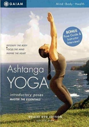 Amazon.com: Ashtanga Yoga Introductory Poses [DVD] [2003] by ...