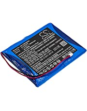 8000mAh / 59.20Wh High Capacity Replacement Battery for Trimble SPS850 Modular Receiver, SPS851 Modular Receiver (1 Year Warranty)