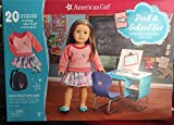 American Girl Desk & School Set