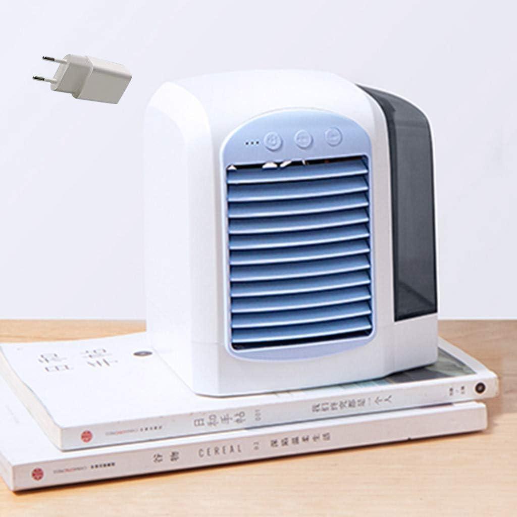 Gaddrt 3 en 1 Portátil Mini Ventilador Aire Acondicionado ...