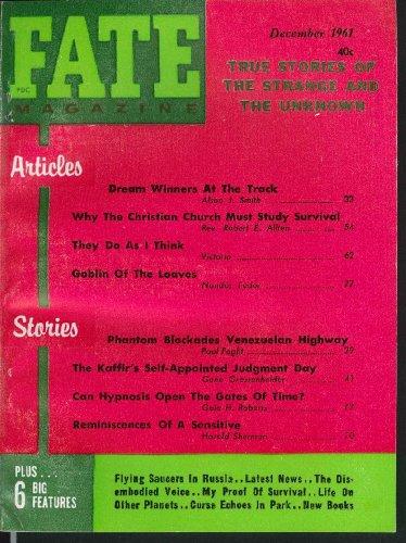 FATE #141 Dream Winners at Track Christian Church Studies Survival 12 1961