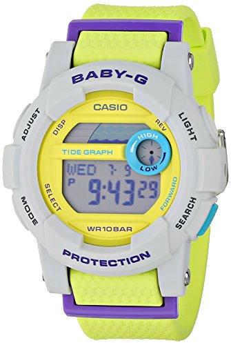 Casio Baby-G G-Lide Digital Dial Multi Color Resin Quartz...