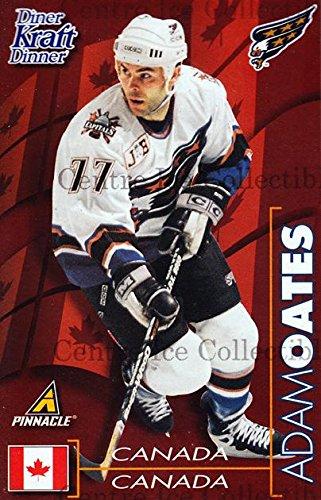 (CI) Adam Oates Hockey Card 1997-98 Kraft Dinner (base) 17 Adam Oates