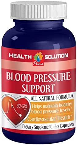 Olive leaf extract super strength - BLOOD PRESSURE SUPPORT - bring blood pressure numbers down (1 bottle)