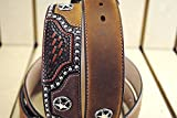 32-46 inch JUSTIN TEXAS ALL STAR TOOLED WESTERN