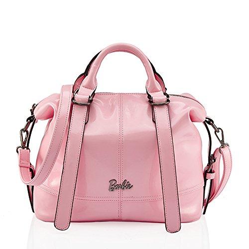 barbie BBFB218 bolso elegante para mujeres bolso bandolero de simple estilo moderno Rosa