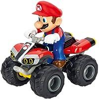 Carrera- 2,4GHz Kart, Mario-Quad Juguete con Control Remoto