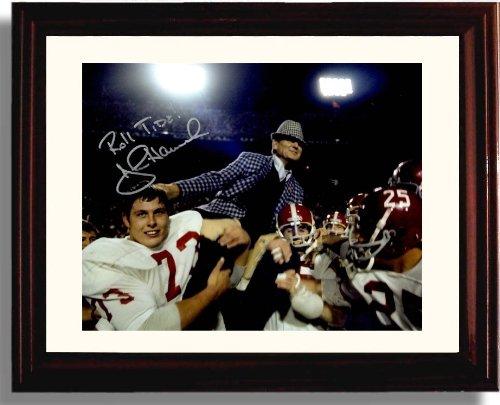 Framed B00K4L2I3W AlabamaジョンハナBear Bryant Bryant Framed Autographレプリカ印刷 B00K4L2I3W, オーダーメイドケース世界のスマホ:098002b9 --- harrow-unison.org.uk