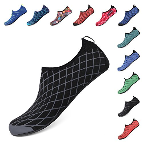 Aqua Sports Barefoot Beach Socks Heeta Women Men Black Water Swim c Quick Shoes For Dry pZqx8P5q