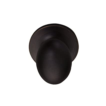 Pearson Collection Egg Style Non Latching Dummy Door Knob Lock, Oil Rubbed  Bronze