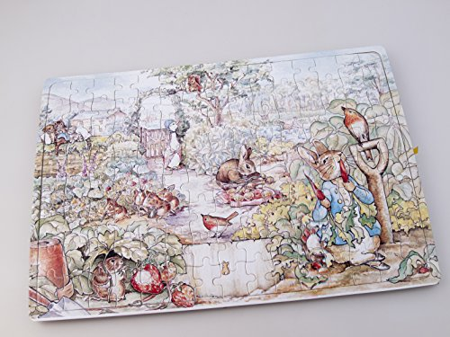 Who Inside Barney Costume - Beatrix Potter Peter Rabbit & Family Puzzle 120pcs. 30x20cm