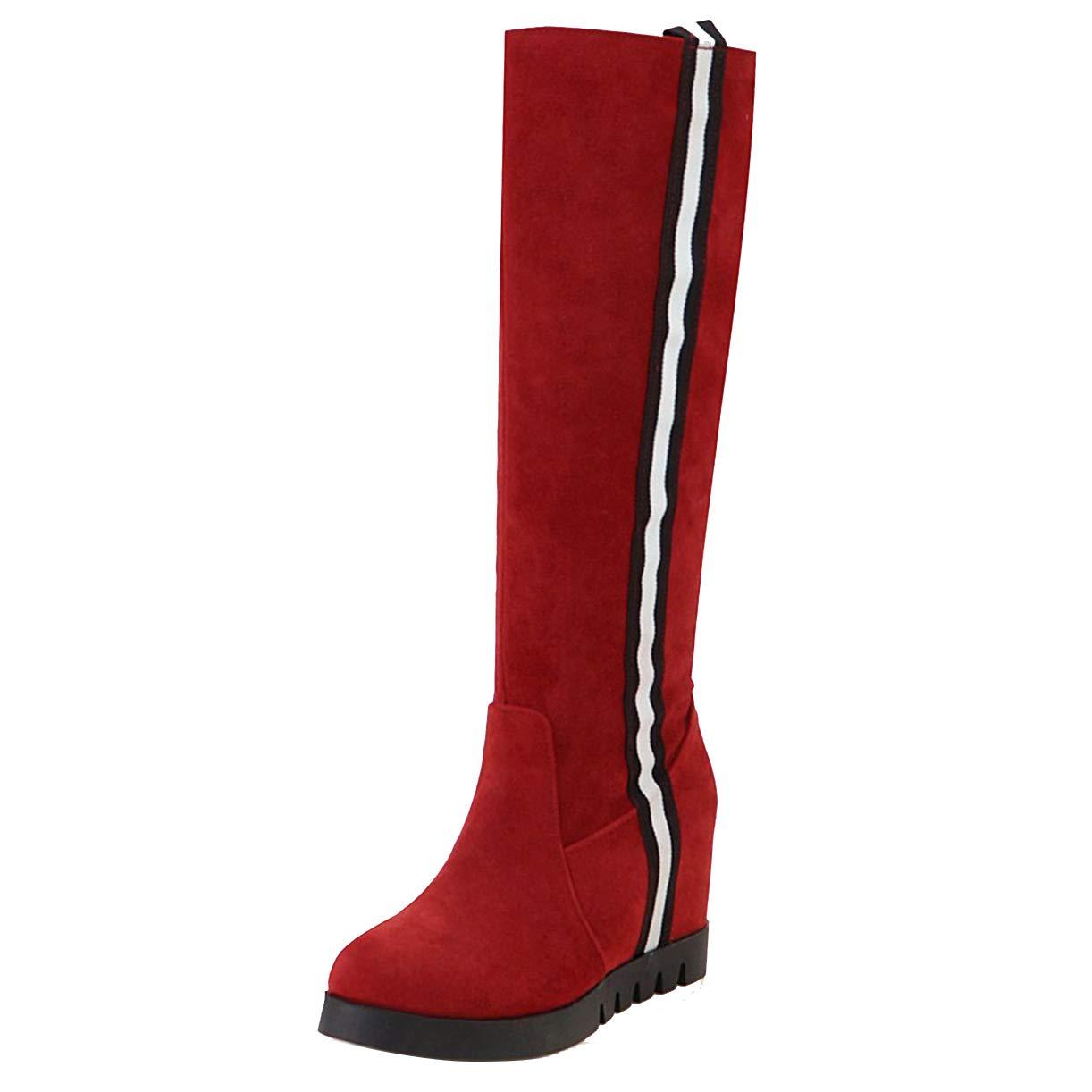JYshoes , Rouge B01HLVC5LW Bottes Classiques JYshoes Femme Rouge 9cabab2 - shopssong.space