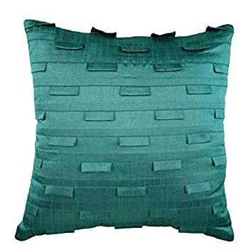 Amazon.com: The HomeCentric 24x24 Pillow Covers Teal ...