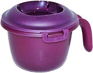 Tupperware Mini Microwave Rice Maker 18 Ounces Purple