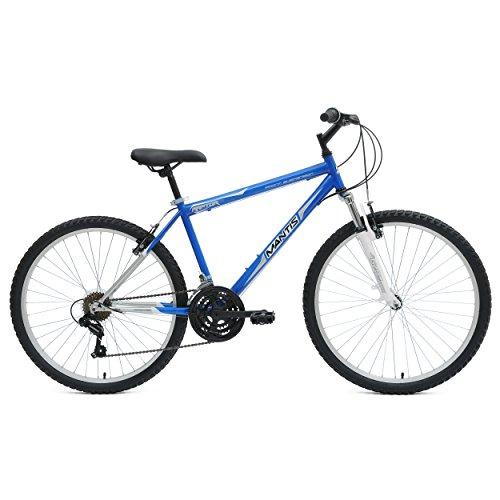 Mantis Raptor Hardtail Mountain Bike, 26 inch Wheels, 17 inch Frame, Men's Bike, Blue