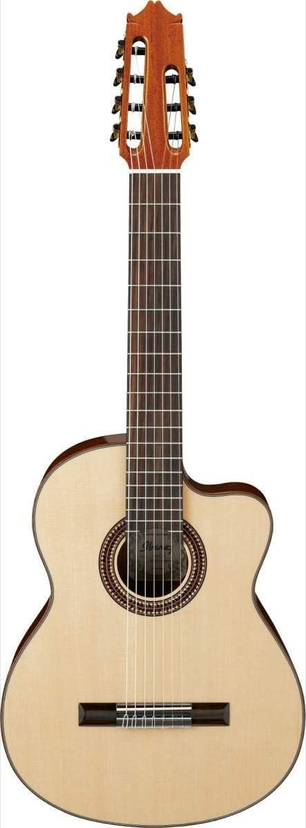 Ibanez g207cwcnt parte superior sólida guitarra clásica acústica ...