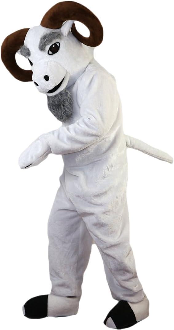 Langteng - Disfraz de Capullo de Cabra de Buck, Color Blanco ...