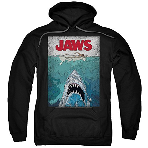 hoodie-jaws-lined-poster-pullover-hoodie-size-xl