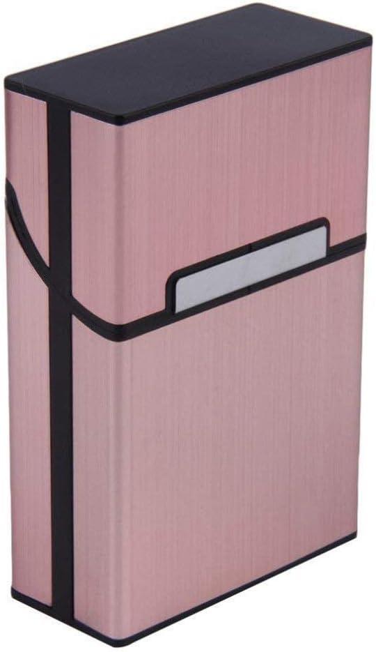 Uteruik - Caja de Aluminio para Cigarrillos y Tabaco: Amazon.es: Hogar
