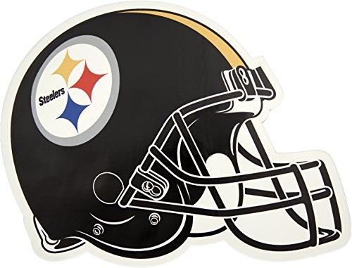NFL Pittsburgh Steelers Outdoor Small Helmet Graphic (Pittsburgh Steelers Helmet Decal)