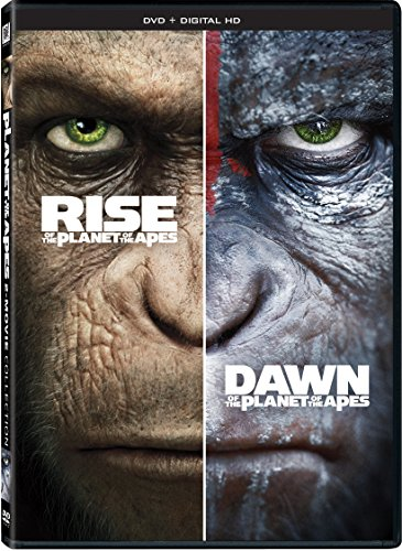 Rise Of The Planet Of The Apes + Dawn Of The Planet Of The Apes Double Feature (The Legacy Planet Of Apes Movies)