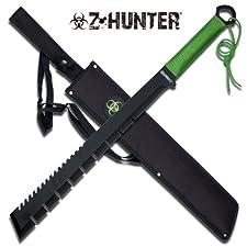 NEW 25 in ZOMBIE Z Hunter Full Tang Machete ZB064