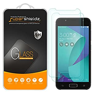 """[2-Pack] Supershieldz for Asus """"ZenFone V Live"""" Tempered Glass Screen Protector, Anti-Scratch, Bubble Free, Lifetime Replacement Warranty"""