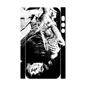 3D to the Lions IPhone 5,5S Cases, Vety {White}