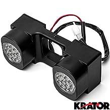 """Krator LED Hitch Light Reverse / Work Light for Trucks Trailer SUV 2"""" Hitch Receiver for Toyota RAV4 Tundra 4Runner Land Cruiser"""