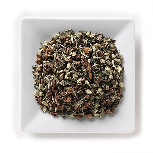 Apple Mint Herb (Mahamosa Cool Mint Tea 4 oz, Loose Leaf Herbal Herb Tea (with licorice root, apple, peppermint, lemongrass))