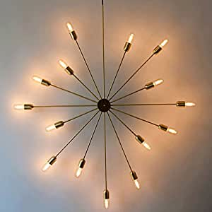 Creative Chandelier Design, Lighting, Suction And Hanging Dual-Use Lamp, Restaurant Personality Chandelier, Multi Chandelier, Body Material: Iron