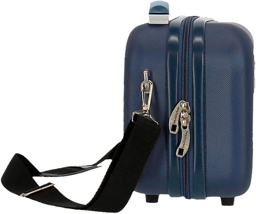 Neceser Movom Riga ABS Adaptable Amarillo 29x21x15 cms