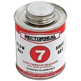 7 Pipe Thread Sealant, 1 pt , Black: Hardware: Amazon com