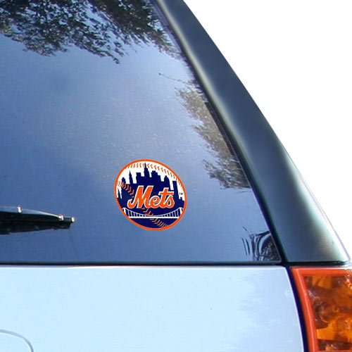 Rico MLB New York Mets Small Static Decal, One -