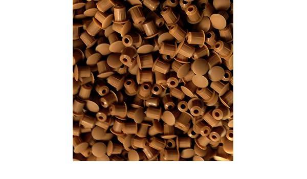 Tapones para agujero de taladro M5 (5 mm), para mobiliario de ...