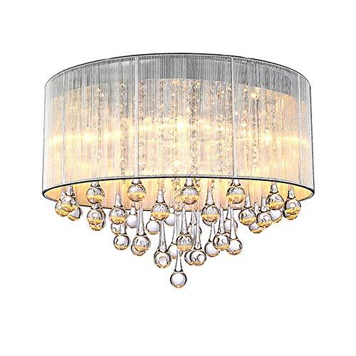 Zhang Yan ZYY Dormitorio de Cristal Moderno Lámparas de ...