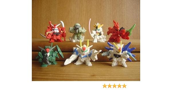 Capsule Toys Gashapon Sd Gundam Impact 01 7 Pics Set From Japan