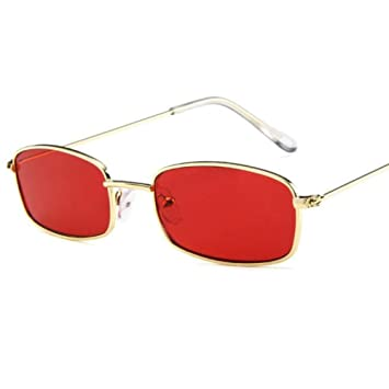 Liuao 2019 Fashion Gold Wire Metal Side Frame Gafas de Sol ...