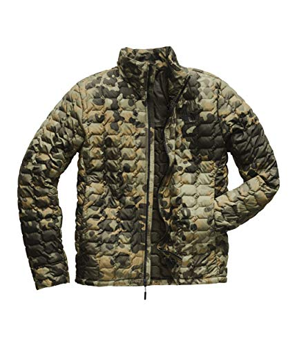The North Face Men's Thermoball Jacket - New Taupe Green Macrofleck Camo Print - XL (Jacket Mountain Light North Face)