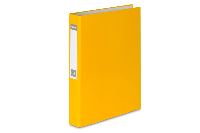 Ringbuch 10 Prospekthüllen 4-Ring Ordner orange DIN A5 Farbe
