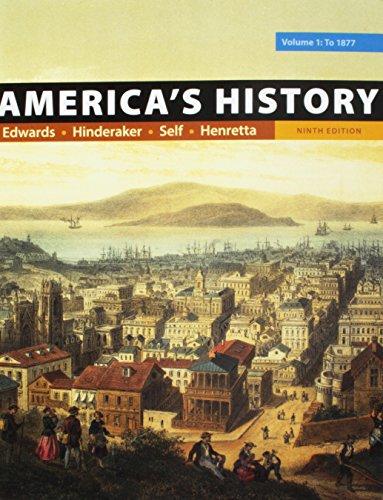 Americas History Volume 1