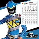 Blue Power Rangers Costume for Kids. Official