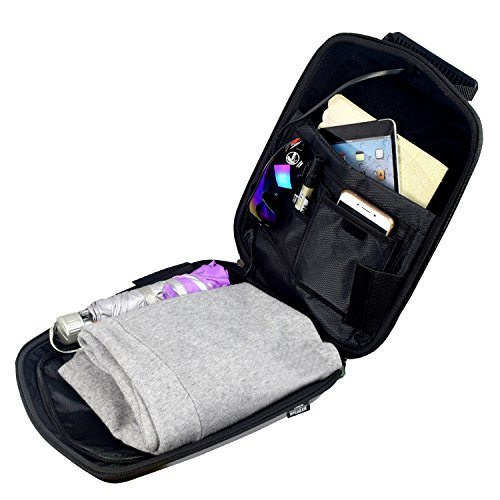 WILDMAN Multi-Functional Waterproof Lightweight Enabled Wireless Bluetooth Speaker LED Light Backpack (Black) by Wildman (Image #7)