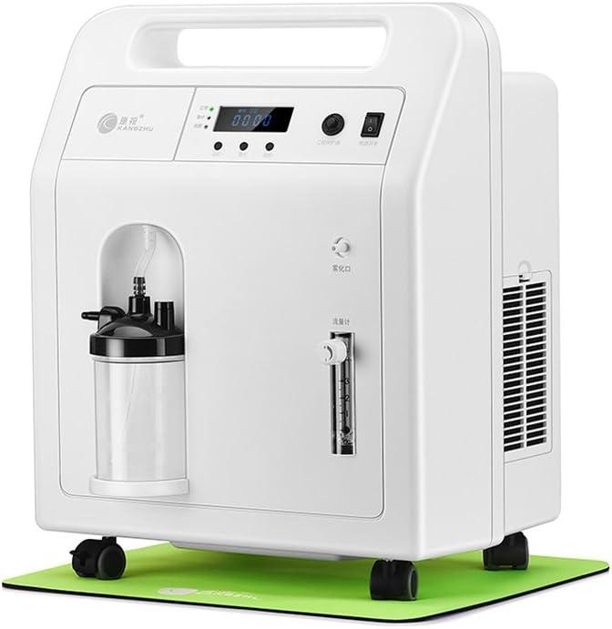 BJL Concentrador de oxígeno Concentrador de oxígeno - Generador de concentrador de oxígeno portátil Máquina de oxígeno para el hogar Salida de atomización Alto purificador 1-3L / Min Ajustable OYO