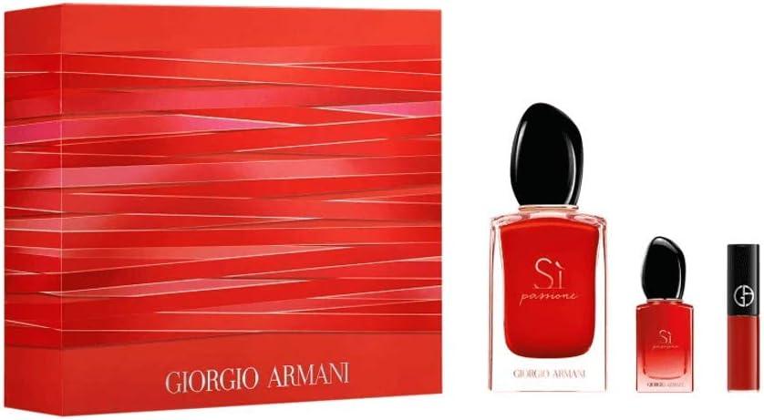 banner Kit giorgio armani si passione + batom + mini