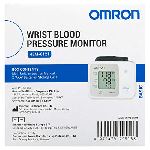 Amazon.com: Omron RS2 Wrist Blood Pressure Monitor: Health & Personal Care